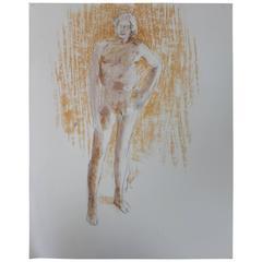 Faralla Nude Drawing, 1980