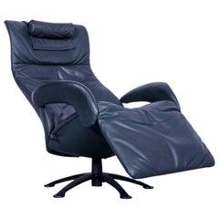 JORI Symphonie JR-7960 Designer Chair Leather Dark Green Relax Function Modern