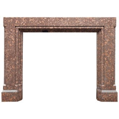 Porphyry Fireplace