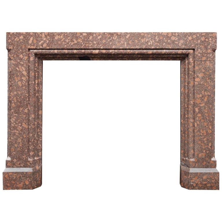 Porphyry Fireplace For Sale