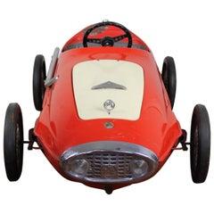 1966 Italian Giordani Pedal Car Racer, Auto Sprint 1100 M-MR