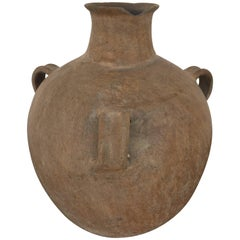 Vintage Terracotta Jug from Mexico
