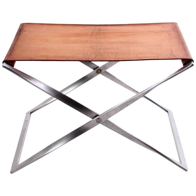 Poul Kjærholm PK 91 folding stool