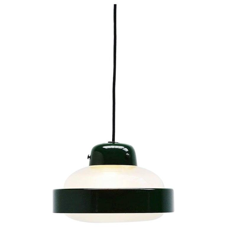 Gino Sarfatti Pendant Lamp Model 2102p Arteluce, 1959