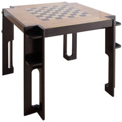 Italian Modernism Square Gaming Table, 1930s