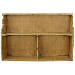 Vintage Oak Wall Cabinet, English, Midcentury