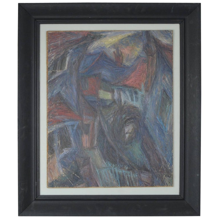 Abstract Landscape, David Lord, circa 1960