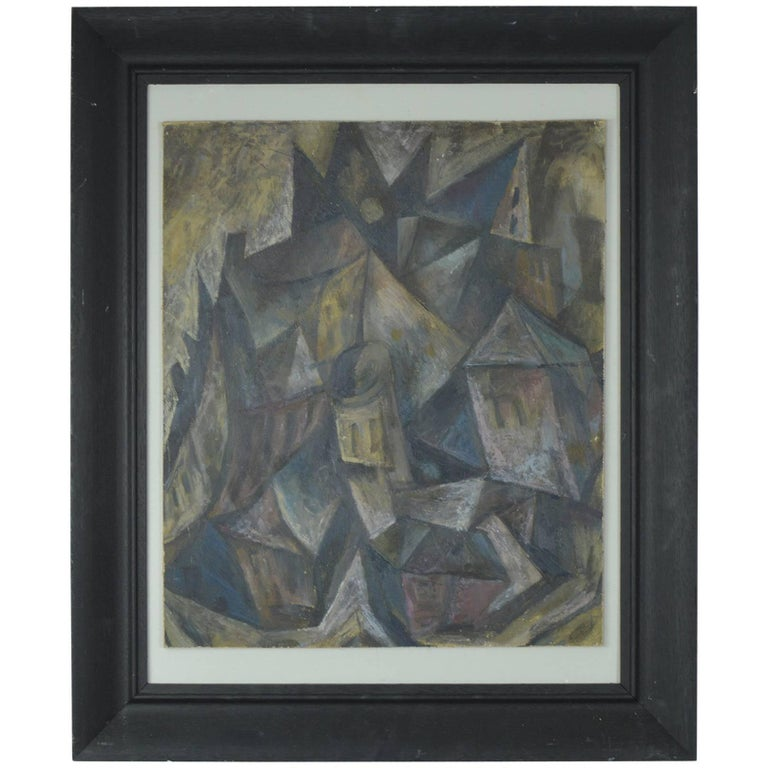 Abstract Landscape, David Lord, circa 1960 For Sale