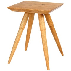 Rockport Side Table, Midcentury-Inspired Hardwood, Custom-Made by Studio DUNN