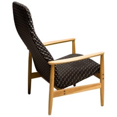 Scandinavian Organic Lounge Chair by Alf Svensson for Ljungs Industrier, Sweden