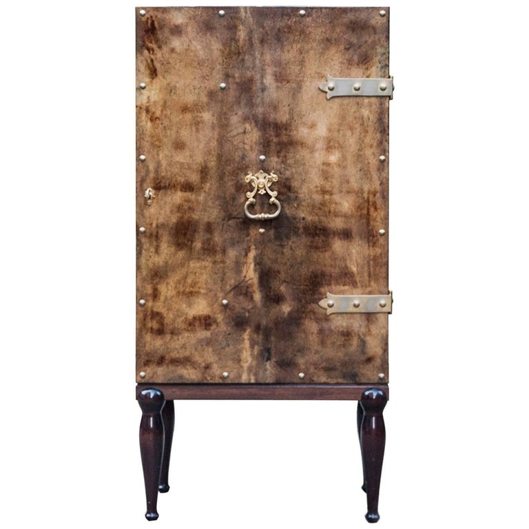 Luxury Aldo Tura Bar Cabinet