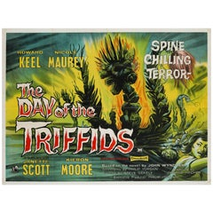 The Day of the Triffids UK Film Poster, 1962
