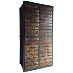 Haberdashery Chest of Drawers Cabinet Industrial Loft Style Midcentury Museum