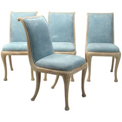 Set of Four Neoclassical Dining Chairs