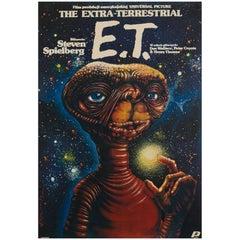 E.T. the Extra-Terrestrial Polish Film Poster, Art by Jakub Erol, 1984