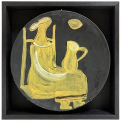 Jacques Innocenti, Framed Decorative Plate