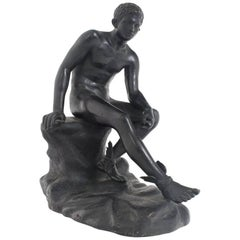 Sitting Hermes, Naples Second Half 19th Century