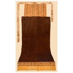 Complete Pre-Columbian Chancay Tapa-Rabo Textile, Peru, 1000-1450