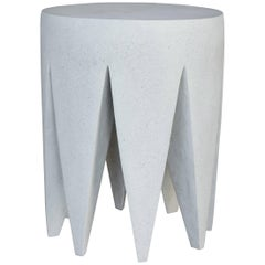 Lightweight Outdoor King Me Stool 'White' by Zachary A.