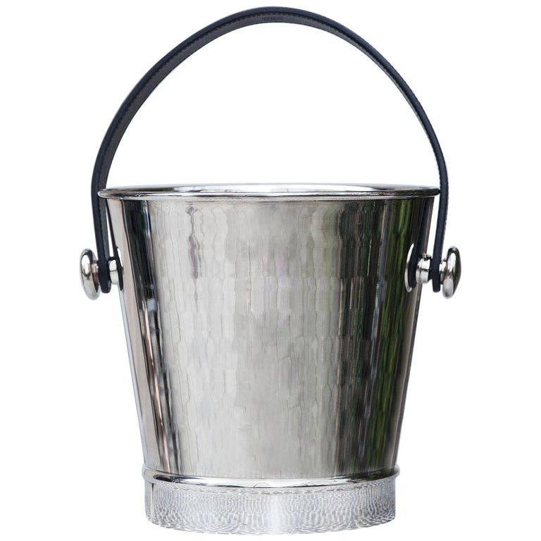 Hermes Silver Plated Champagne Cooler, 1980