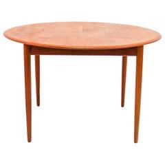 Mogens Kold MK 216 Teak Dining Table by Arne Hovmand-Olsen