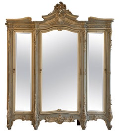 19th Century Italian Baroque Armoire