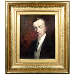 Early 20th Century Impressionist Portrait of a Gentleman, Circle of Max Slevogt