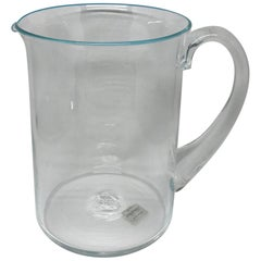 Salviati Venetian Glass Pitcher