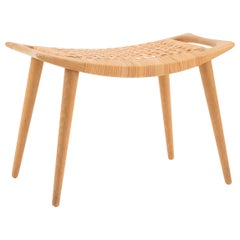 Hans J. Wegner Stool in Oak for Johannes Hansen