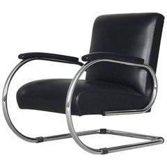 Belgian Art Deco Vilvoure Chair by Tubax, 1950s