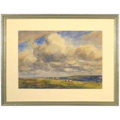 20th Century Landscape Watercolour by John Atkinson, British (1863-19240)