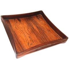 Rare IHQ/Dansk Sculpted Rosewood Tray