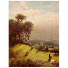 Hudson River School Painting, 19th Century