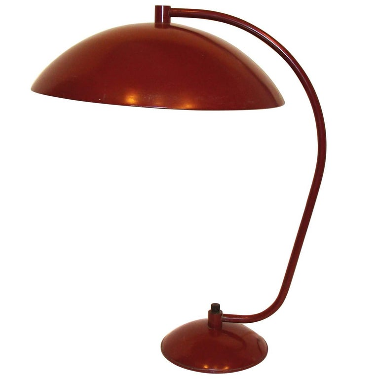 Kurt Versen Desk Table Lamp