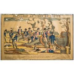 Francois Georgin Set of Eight Napoleonic Prints