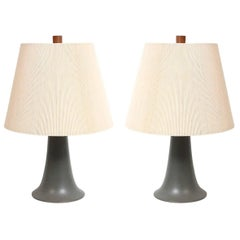 Pair of Ceramic Table Lamps by Martz