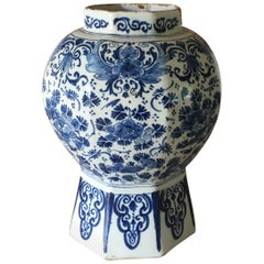18th Century Dutch Delft Vase