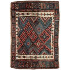 Antique Persian Jaff Kurd Rug