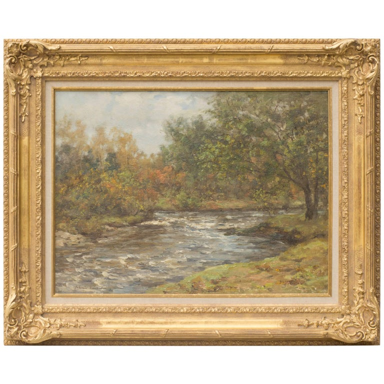 Aberfoyle, Oil on Canvas Painting by Joseph Morris Henderson