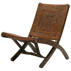 Ecuadorian Folding Chair by Angel Pazmino for Muebles De Estilo
