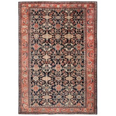 Large Antique Sultanabad Persian Rug