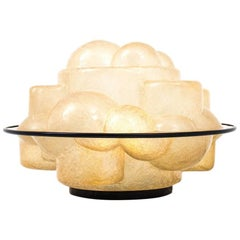 Fiberglass 'Profiterole' Table Lamp by Sergio Asti for Martinelli Luce, 1960s