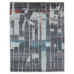 Contemporary Moroccan Style Rug with Modern Design