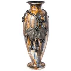 Roger Guerin Art Nouveau Belgium Vase, circa 1890