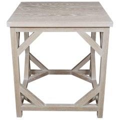 White Oak Side Table