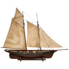 Massive Merchant Schooner Model