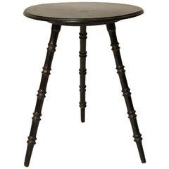 """Ebonized """"Gypsy"""" Table"""