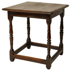 Welsh Square Oak Tavern Table