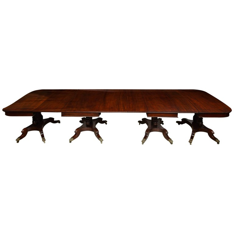 Huge Classical Boston Banquet Table
