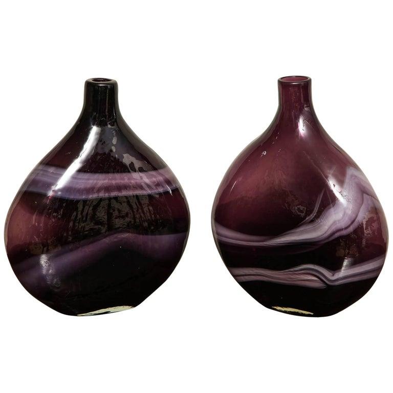 Deep Purple Vases For Sale At 1stdibs